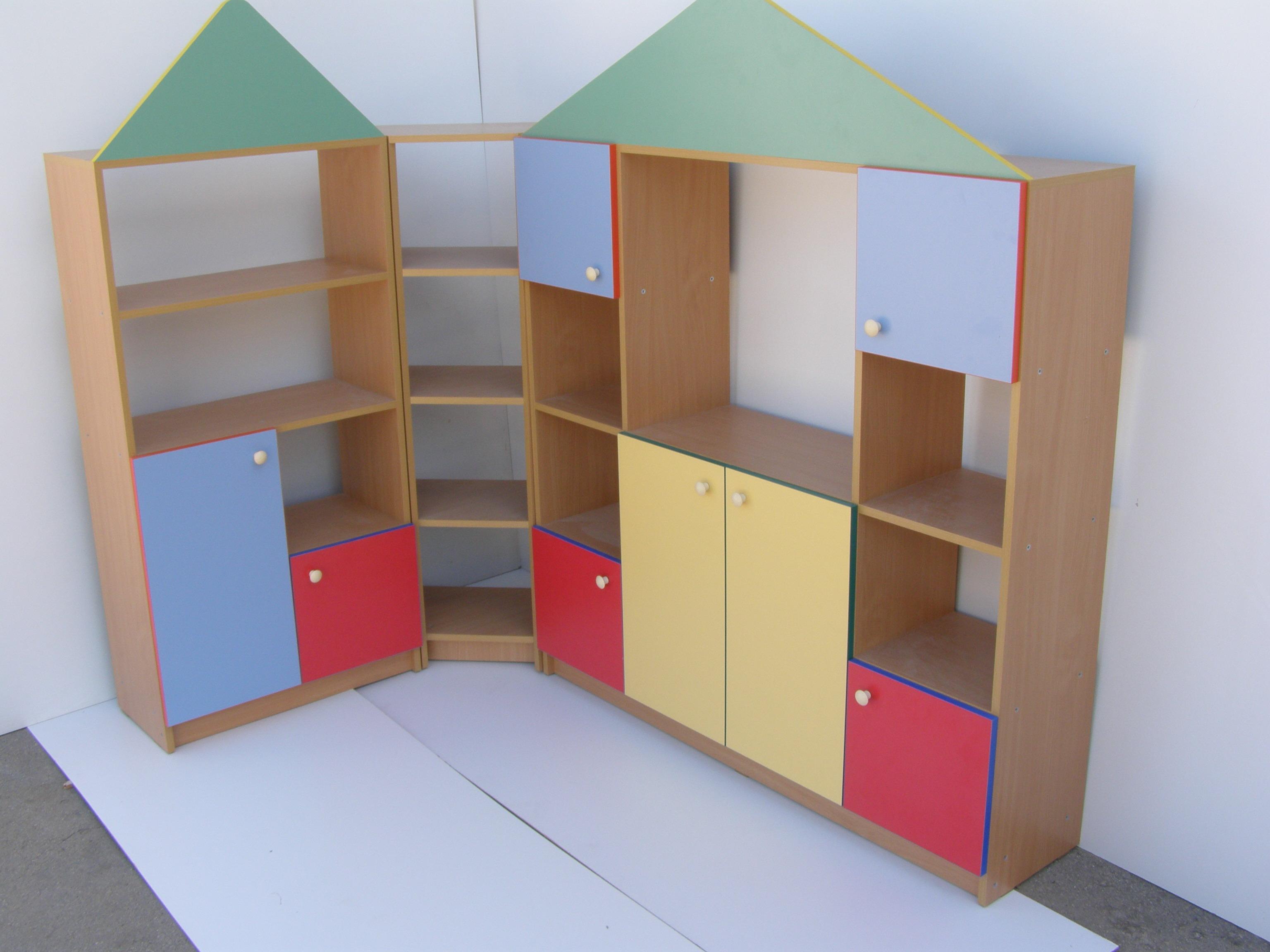 Стенки детские, игровая мебель.