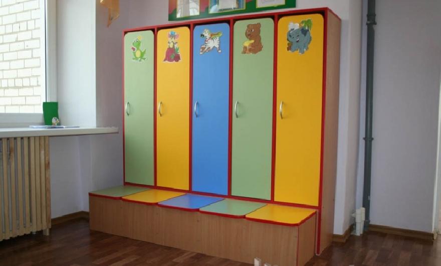 Детский шкафчик в садик 32
